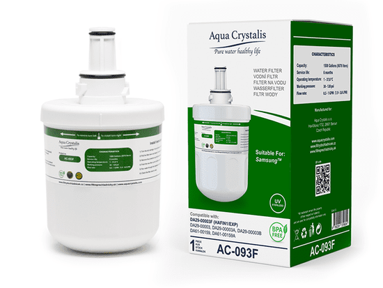 Aqua Crystalis Vodní filtr Aqua Crystalis AC-093F - náhrada filtru Samsung DA29-00003F - set 2 ks
