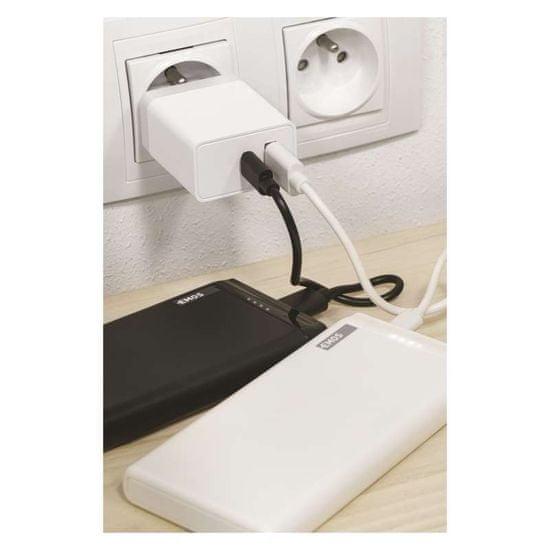 Emos Univerzální USB adaptér PD do sítě 1,5–3,0A (30W) max.