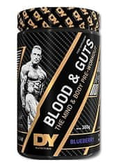 DY Nutritions Blood & Guts Pre Workout, borovnica, 380 g