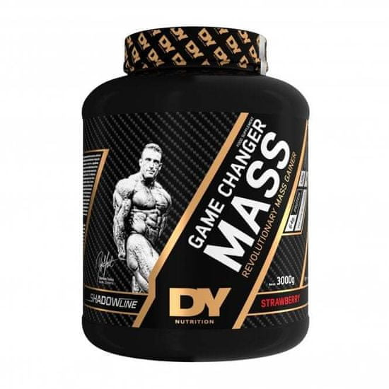 DY Nutritions Game Changer Mass Gainer, jagoda, 3 kg