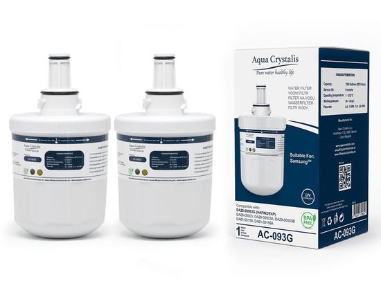 Aqua Crystalis Vodní filtr Aqua Crystalis AC-093G - náhrada filtru Samsung DA29-00003G - set 2 ks