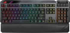Asus klawiatura gamingowa ROG CLAYMORE II, US, RX Red (90MP01W0-BKUA00)