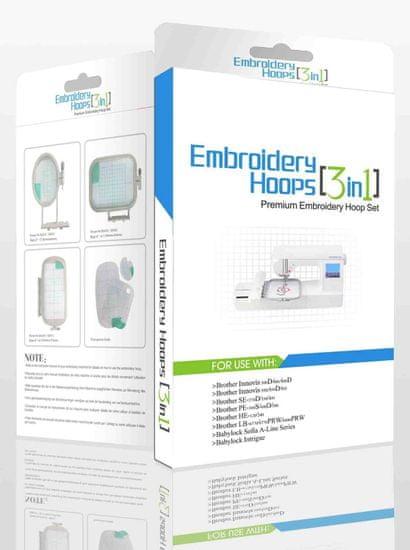 Sewtech Vyšívacie rámčeky Sewtech EF61, EF62, EF71