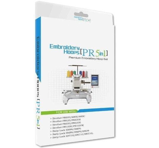 Sewtech Vyšívacie rámčeky Sewtech PRH60, PRH100, PRH180, PRH300, PRF300