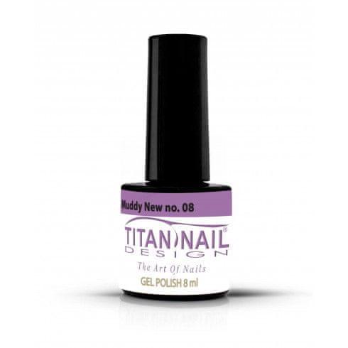 Titan Nail Design UV/LED lak za nohte (Gel Polish) - 8ml - Muddy New (no. 08)