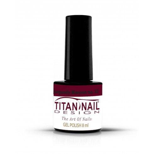Titan Nail Design UV/LED lak za nohte (Gel Polish) - 8ml - Burgundy Maroon (no. 32)