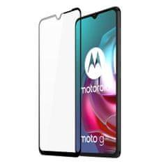Dux Ducis All Glass Full Coveraged zaščitno steklo za Motorola Moto G30 / Moto G10, črna