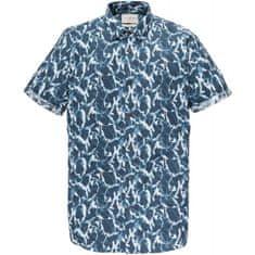 Cast Iron košeľa modrá M