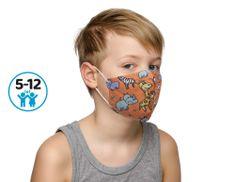 Wenzhou Med. Device 10x Respirátor FFP2 vhodný pro kluky - oranžová zoo