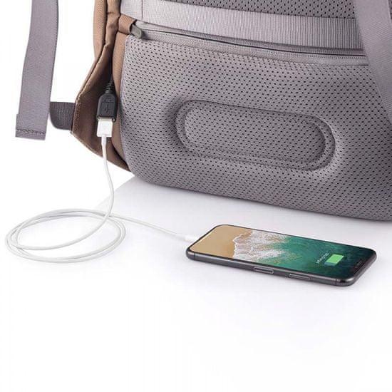 XD Design Biztonsági hátizsák Bobby Soft P705.796, barna