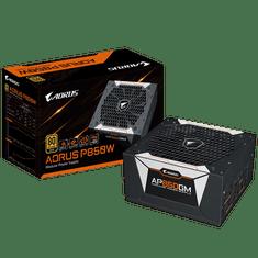 Gigabyte Aorus AP850GM modularni napajalnik, 850 W, 80 PLUS Gold, ATX