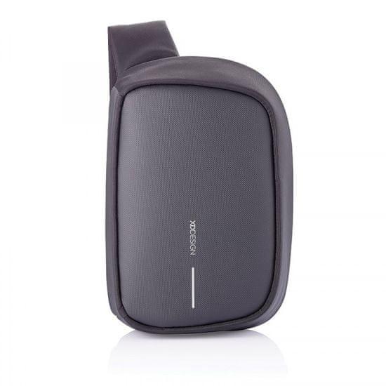 XD Design Bobby Sling P705.781 biztonsági hátizsák egy vállpánttal, fekete