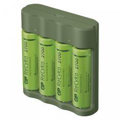 GP Everyday B421 polnilec baterij, USB + ReCyko 2700, 4 x AA