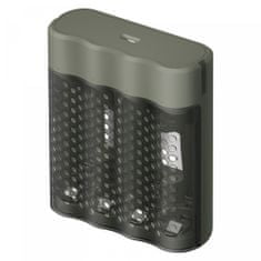 GP Speed M451 polnilec baterij, siv