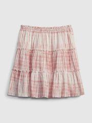 Gap Otroška Krilo teen tiered skirt 12