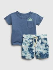 Gap Baby set tie-dye outfit 12-18M