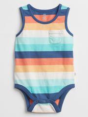 Gap Baby body pocket print bodysuit 12-18M