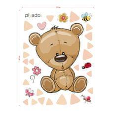 PixadoArt Hnědý medvídek a kamarádi