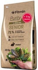 Fitmin cat Purity Senior - 10 kg + 1 kg