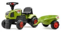 Falk Claas traktor s upravljačem i prikolicom