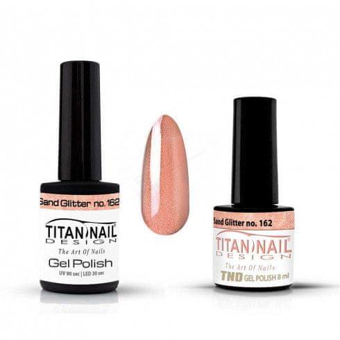 Titan Nail Design UV/LED lak za nohte (Gel Polish) - 8ml - Sand Glitter (no. 162)