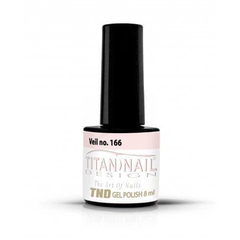 Titan Nail Design UV/LED lak za nohte (Gel Polish) - 8ml - Veil (no. 166)