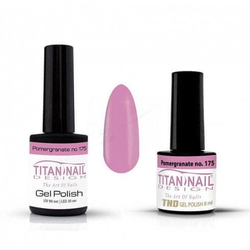 Titan Nail Design UV/LED lak za nohte (Gel Polish) - 15ml - Pomergranate (no. 175)