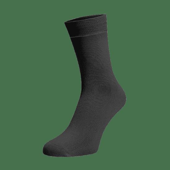 BENAMI Vysoké ponožky Tmavě šedé Tmavě šedá Bavlna 35-38