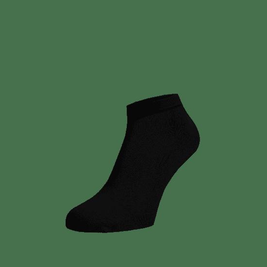 BENAMI Kotníkové ponožky Černé Černá Bavlna 35-38