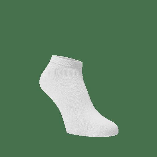 BENAMI Kotníkové ponožky Bílé Bílá Bavlna 35-38