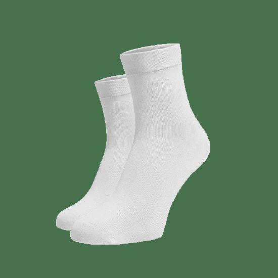 BENAMI Střední ponožky bílé Bílá Bavlna 35-38