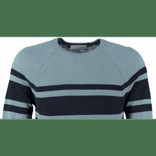 Cast Iron sveter modrá