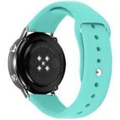 4wrist Silikonový řemínek pro Samsung Galaxy Watch - Mint Green 20 mm
