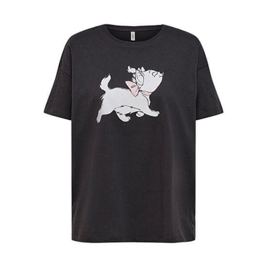 ONLY T-shirt damski ONLDISNEY LIFE Regular Fit 15235935 Phantom