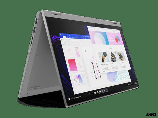 Lenovo IdeaPad Flex 5 prenosnik, siv (82HU004YSC)