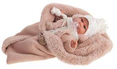 Antonio Juan 7046 Clara realistická panenka miminko se zvuky