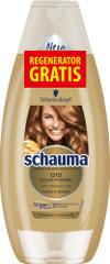 Schauma šampon Q10, 400 ml + regenerator GRATIS