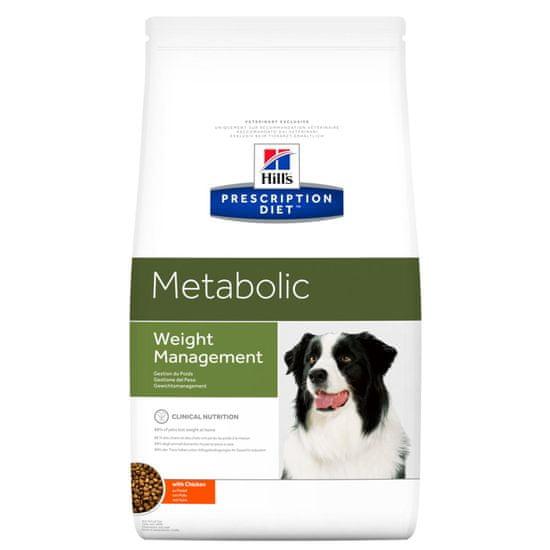 Hill's Metabolic Canine Mini suha hrana za pse, s piletinom, 1,5 kg