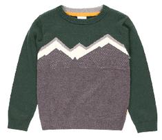 Boboli St. Moritz Chic pulover za dječake, zelena, 104