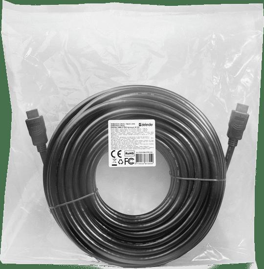 Defender Kabel HDMI-67PRO HDMI M-M, ver 2.0, 20 m