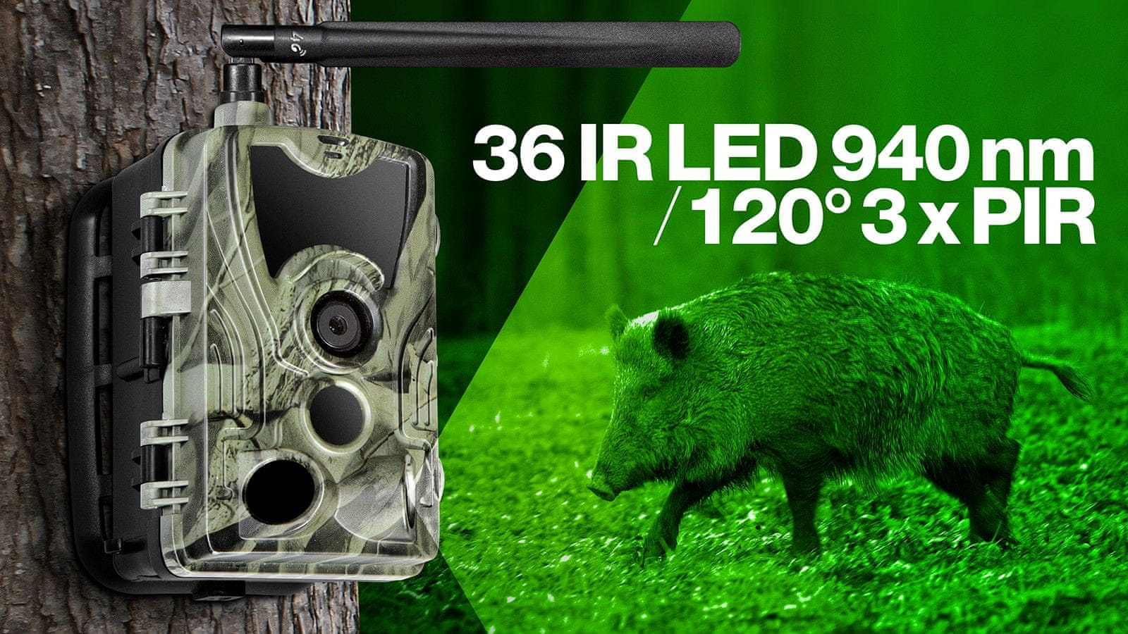 StrongVision 4GA, 4G LTE fotócsapda / time lapse kamera