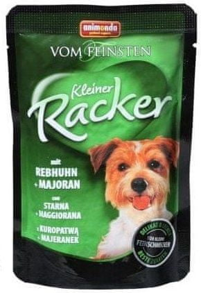 Animonda saszetki dla psa VF Kleiner Racker kuropatwa + majeranek 16x 85g