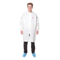 3M 4440M Laboratorní plášť, bílý, velikost M, jednorázový