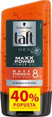 Taft Men Maxx Power gel za lase, 2 x 150 ml, DuoPack