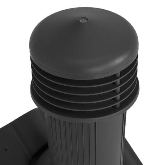 shumee strešni ventilator črna