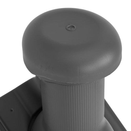 shumee Strešni ventilator antracit