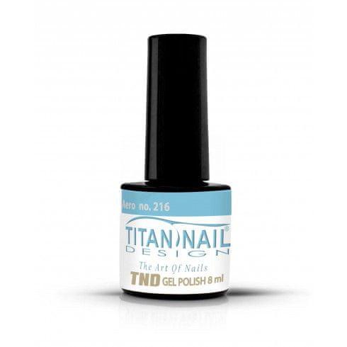 Titan Nail Design UV/LED lak za nohte (Gel Polish) - 8ml - Aero (no. 216)