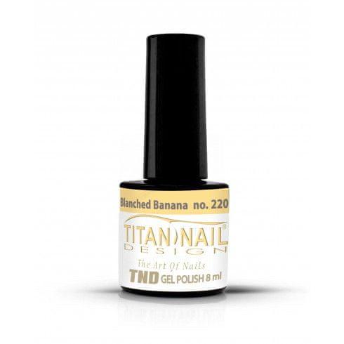 Titan Nail Design UV/LED lak za nohte (Gel Polish) - 8ml - Blanched Banana (no. 220)
