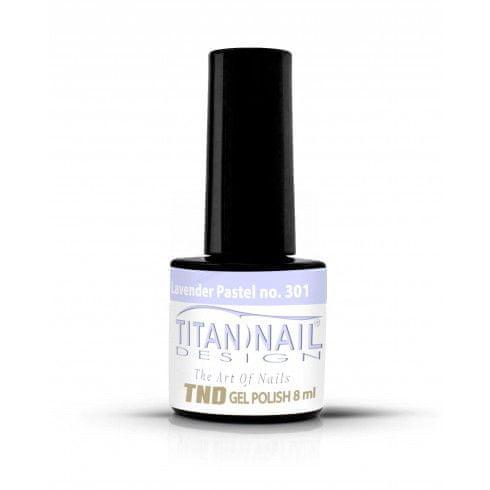 Titan Nail Design UV/LED lak za nohte (Gel Polish) - 8ml - Pastel lavender (no. 301)