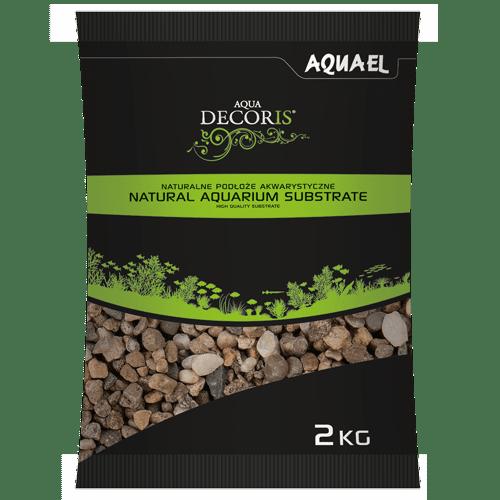 shumee Aquael kavics természetes tarka 5-10 mm 2 kg